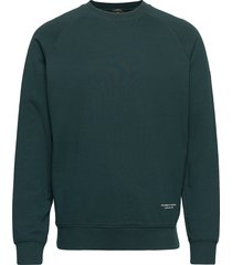 organic cotton felpa crewneck sweat sweat-shirt trui groen scotch & soda