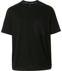 blackbarrett drawstring hem t-shirt