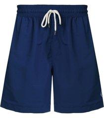 polo ralph lauren drawstring waist swim shorts - azul