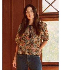 camicetta, modello: the tassel tie wildflower