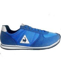 zapatilla azul le coq sportif  bolivar br nylon