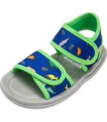 sandalia azul blue duck dinos