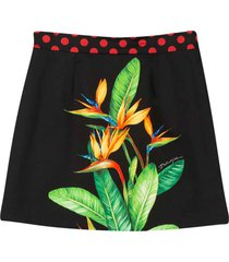 dolce & gabbana black skirt