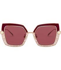dolce & gabbana dolce & gabbana dg2251h bordeaux sunglasses