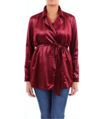 blazer women burgundy
