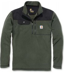 carhartt trui men fallon 1/2 zip sweatshirt olive-l
