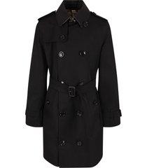 burberry black trench coat for girl