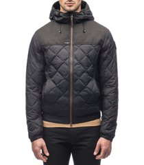 men's nobis packable quilted down jacket, size xx-large - black