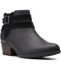 clarks collection women's adreena show ankle boots women's shoes