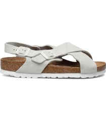 tulum soft footbed shoes summer shoes flat sandals vit birkenstock
