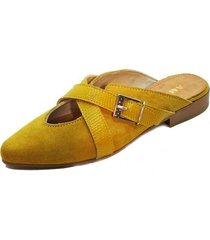 babucha aura mostaza amano shoes