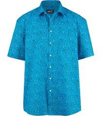 kortärmad skjorta men plus turkos::marinblå