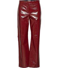 hedi lacquer casual broek rood dagmar