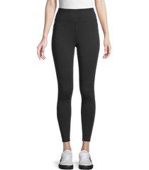 splendid women's eva active leggings - black - size xs