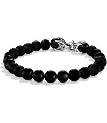 david yurman spiritual beads bracelet, size 9 in black onyx at nordstrom