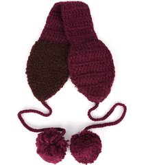 le donne winter winter vogue warm knit fascia di lana hairball warm ears outdoor travel home headband