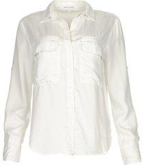 klassieke blouse miria  wit