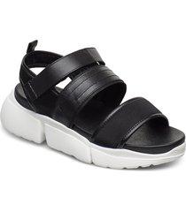 stb-mala sport l shoes summer shoes flat sandals svart shoe the bear