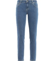dondup bakony slim fit cropped jeans