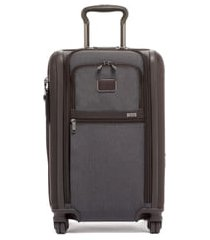 men's tumi alpha 3 international 22-inch wheeled carry-on - grey