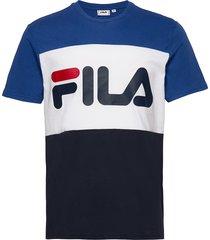 day tee t-shirts short-sleeved multi/mönstrad fila