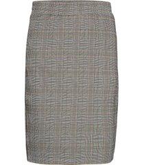 sc-alaya knälång kjol grå soyaconcept