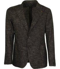 tagliatore two-button brown jacket blazer