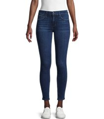 joe's jeans women's mid-rise cropped skinny jeans - tackett - size 31 (10)