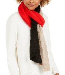 calvin klein textured boucle knit scarf