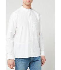 a.p.c. men's chemise artus shirt - blanc - xl
