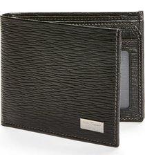 men's salvatore ferragamo stamped calf wallet -