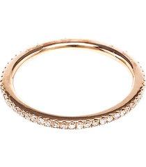 18kt rose gold eternity ring