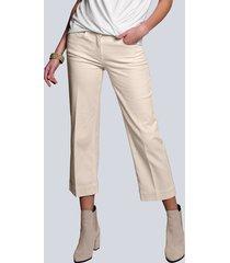 jeansculotte alba moda offwhite