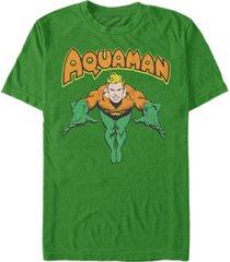 fifth sun dc men's aquaman dive short sleeve t-shirt