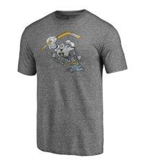 authentic nhl apparel anaheim ducks men's special edition tri-blend t-shirt