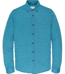 cast iron csi195605 5233 long sleeve shirt jersey jacquard lyons blue blauw