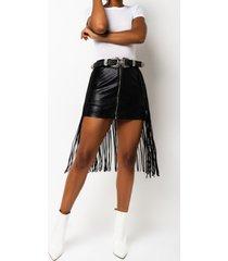 akira save a horse fringe cowgirl skirt belt