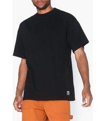 dr denim major tee t-shirts & linnen svart