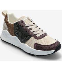 shoes hydra pach låga sneakers brun desigual shoes