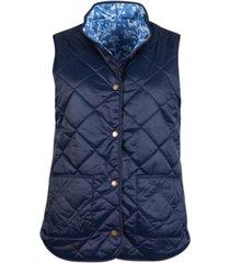 barbour larch gilet quilted vest