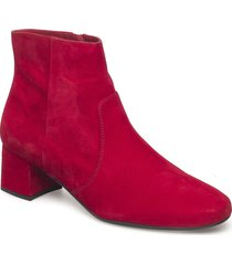 karisi_f18_ks shoes boots ankle boots ankle boots with heel röd unisa