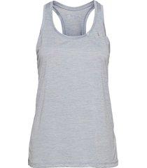tech tank t-shirts & tops sleeveless blå under armour