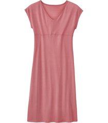 zijden nachtjapon uit organic silk, roze 34