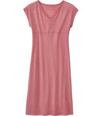 zijden nachtjapon uit organic silk, roze 36/38