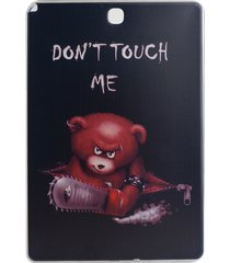 0.6mm slim tpu phone case for samsung galaxy tab a 9.7 t550 t555 - do not touch