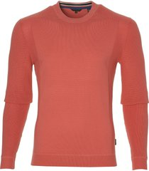 ted baker pullover - slim fit - oranje