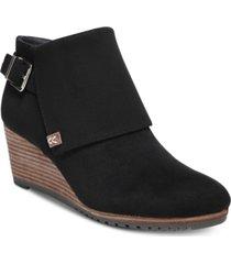 dr. scholl's create wedge booties women's shoes