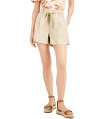 inc tie-waist shorts, created for macy's