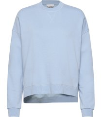 isoli sweat-shirt tröja blå ganni