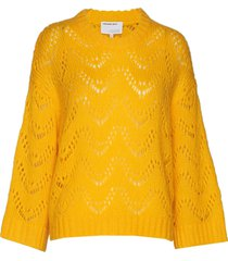 vicki wave stickad tröja gul designers, remix
